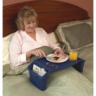 Ableware 764170000 Plastic Bed Tray by Maddak-Color May Vary