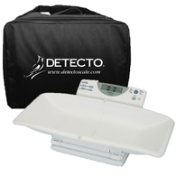 Detecto 8440 Digital Baby and Toddler Scale and Carrying Case