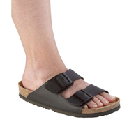 Silverts SV10290 Womens Slip-On Shock-Absorbing Adjustable Sandal Shoes