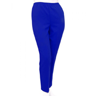 Silverts SV13100 Womens Pull On Pants-Petite Pull On Elastic Waist Pants